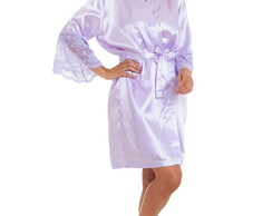Kit 6 Robes Personalizados (Incluso 1 com Renda)