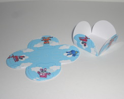 Forminha estampada Super Wings