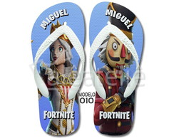 Chinelo Fortnite Crackshot Personalizado Havaianas Top