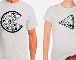 Camiseta Namorados Pizza