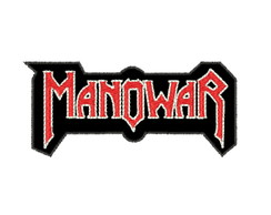 Patch Bordado Banda Manowar