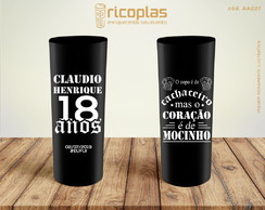 Copos Long Drink 18 ANOS