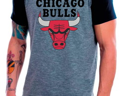 Camiseta Raglan Chicago Bulls