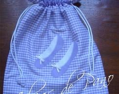 8429f3ae5 Porta sapatos (sem plástico) no Elo7 | Ideias de Pano (D2708)