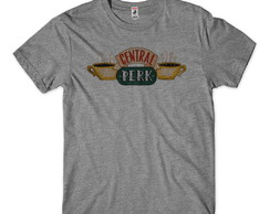 camiseta friends central perk masculina
