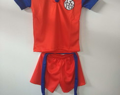 Fantasia infantil Dragon Ball Shorts ( Goku )