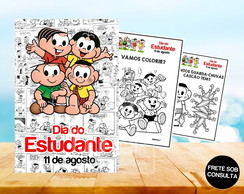 Revista de Colorir Dia do Estudante