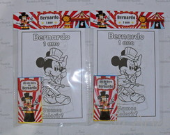 Kit Colorir - Mickey Circo