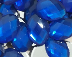 Chaton Oval Azul Royal 13x18mm 50 Unid