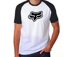 Camiseta Racing Fox Motocross Raglan