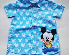 CAMISA TEMATICA MICKEY BABY