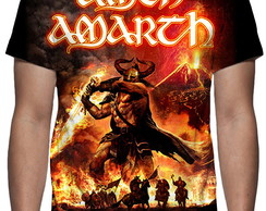 Camiseta - Amon Amarth - Surtur Rising - Estampa Total