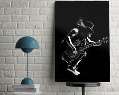 Quadro do Slash Rock And Roll Bandas De Rock