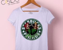 T-shirt feminina Starbucks Friends