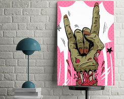 Quadro Decorativo Rock 30x45