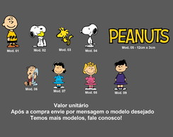 Adesivo Snoopy Peanuts Linus Lucy Sally Charlie Brown Woodst
