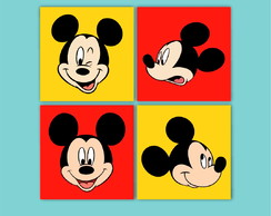 KIT DE QUADROS MICKEY (mod.6)