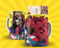 Caneca Anime - My Hero Academia