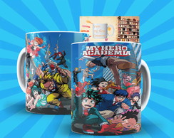 Caneca My Hero Academia Anime Boku No Hero Academia Mod:3