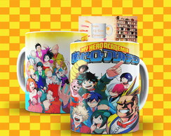Caneca My Hero Academia Anime Boku No Hero Academia Mod:5