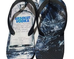 Chinelo Personalizado - Vodka