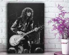 Quadro - Jimmy Page Led Zeppelin - 30x40cm