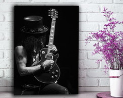 Quadro - Slash Guns N' Roses - 30x40cm