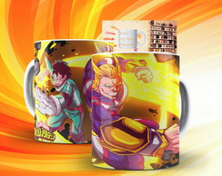Caneca My Hero Academia Anime Boku No Hero Academia Mod:11