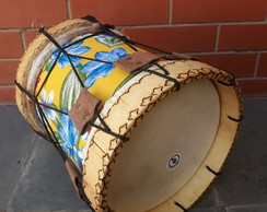 "Tambor do Divino 10"" (Tambor de Folia) - Pequeno"
