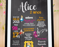 Chalkboard Digital Alice