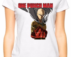 Camiseta Baby Look One Punch Man Modelo 1