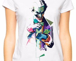 Camiseta Baby Look The Joker Modelo 2