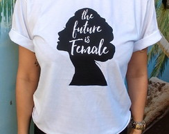camiseta feminista The future is female