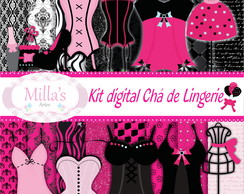 Kit digital Chá de Lingerie
