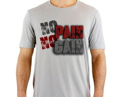 Camiseta Cinza No Pain NO Gain