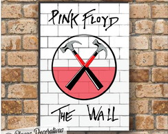 Placa decorativa - Pink floyd the WALL