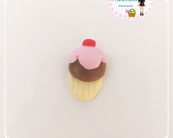 Aplique mini cupcake de biscuit