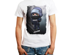 Camiseta Rainbow Six Siege Personagem Rook Camisa Rainbow6