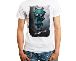 Camiseta Rainbow Six Personagem Thatcher Camisa Rainbow6