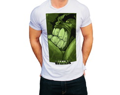 Camiseta Marvel Hulk Personagem Comics Camisa Personalizada