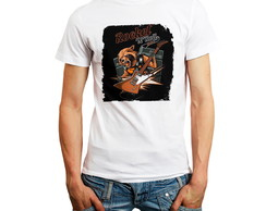 Camiseta Rock in Roll Rocket Fox Camisa Personalizada Barato