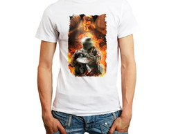 Camiseta Rainbow Six Siege Tachanka Camisa Games Branca