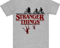 Camiseta Infantil Mescla Stranger Things