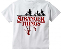 Camiseta Infantil Stranger Things