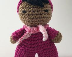 Ravelry: Fofolete Mini Doll pattern by Rose Nogueira (Crochelandia) | 194x244