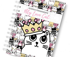 Agenda permanente love cat