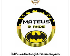 Tag Adesiva Batman