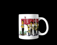 Caneca The Walking Dead Simpsons