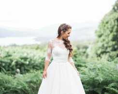 Vestido De Noiva Casamento No Campo Elo7