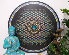 Mandala 60cm Torus & Flower of Life